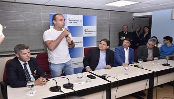 Em visita a Fecomércio Goiás, Eduardo Bolsonaro fala sobre a campanha do pai, Jair Bolsonaro