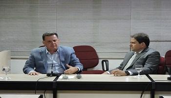 Fecomércio-GO recebe o candidato ao Senado, Marconi Perillo